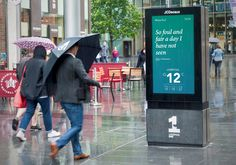 JCDecaux today kicks off its month-long campaign, which is being delivered using SmartCONTENT, bringing localized weather forecasts and relevant Shakespearean quotes to digital out-of-home screens across the UK. Read more on ScreenMedia Daily. Out Of Home Advertising, Advertising Networks, Mobile Marketing, Digital Marketing, Outdoor Companies, Base Mobile, Self Service, Home Network, Digital Signage