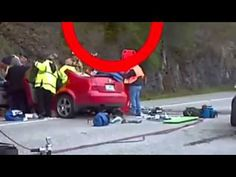 SPIRIT LEAVING BODY?! Published on Aug 17, 2014. Spirit leaving? Or something came to take him? You decide. On or around the presumed time of death of a person trapped in a car after a front end collision. The video is taken from a responding officers view point.