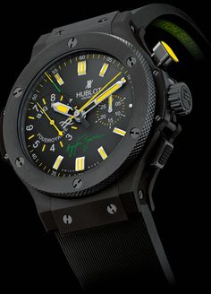 Hublot Big Bang Ayrton Senna 2 Foudroyante Ceramic 44mm - $34,400.