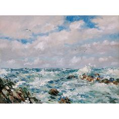 Stormy Seas from The Butterworth Gallery