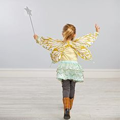 Shop Butterfly Princess Dress Up.  Our Butterfly Princess Dress Up costume features a pair of glittering wings and sparkling skirt.  It's the perfect combo for fluttering through a fairy tale (or at least the backyard or living room).