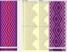 30 tarjetas, 4 / 2 colores, repite cada 24 movimientos // sed_409 diseñado en GTT༺❁