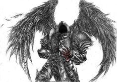 Tyrael-fallen angel by ~DeVmarine on deviantART