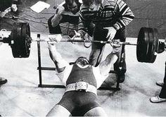 Bill Kazmaier bench press