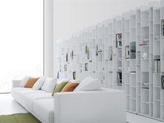 MDF bookcase RANDOM Random Collection by MDF Italia | design Neuland Industriaedesign