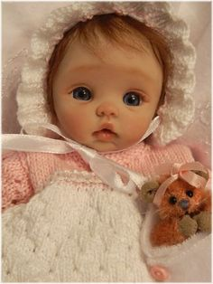"NIB Diana Newborn Baby 21/"" All Vinyl Doll Made in Spain Real Girl"