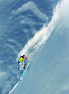 Behind the scenes photo selects from Warren Miller's Ski Film, Flow State. Ski Extreme, Extreme Sports, Ski Film, Trekking, Ski Season, Winter Season, Kayak, Ski And Snowboard, Ski Ski