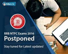 Attention Folks!!!     In order to maintain impartial deal in RRB NTPC Exam, Railway Recruitment Board has postponed the examination which were scheduled from 28th March till 1st Week of May for the posts of Assistant Station Master, Goods Guard, Commercial Apprentice (CA), and Traffic Apprentice (TA). This might be good news for candidates as […]