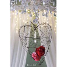 Wire heart fil di ferro Daniela Corti Fili di poesia