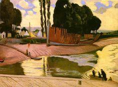 "Maurice Denis - ""La rivière de Landernau"""
