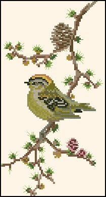 Cross Stitch Bird, Simple Cross Stitch, Cross Stitch Samplers, Cross Stitch Animals, Cross Stitch Flowers, Cross Stitch Charts, Cross Stitch Designs, Cross Stitching, Cross Stitch Patterns