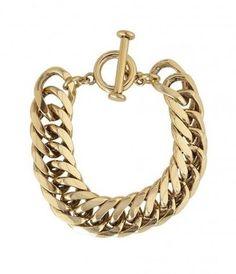 #AllSaints Estelle #Bracelet #chunkybracelet #chunky #jewellery #gold