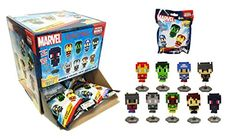 Marvel Pixelated Pixel Heroes Original Minis Figure Blind Pack Box of 24 Mystery Packs @ niftywarehouse.com #NiftyWarehouse #Geek #Gifts #Collectibles #Entertainment #Merch