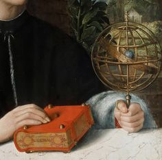 Giovanni Cariani (1485-90-1547) - Portrait of an astronomer
