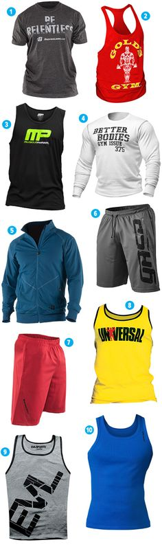 Best Workout Clothes For Men - 2014 Holiday Fit Gift Guide