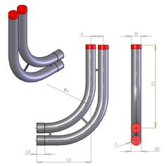 Inlet bends - Salling Plast