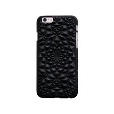 Felony Case, Matte Black Kaleidoscope Phone Case, $40, view here.