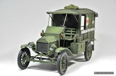 [ACACEMY] 1/16 FORD MODEL T - Ambulance created by Shin, Bo-Sun south korea