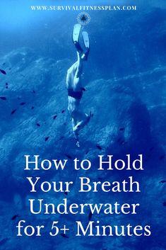 Breath Hold Training - Swim 50 Meters Underwater: Part 1 Pin, Breath Hold Training, Survival Fitness Plan Wilderness Survival, Camping Survival, Outdoor Survival, Survival Prepping, Survival Gear, Survival Skills, Survival Supplies, Survival Hacks, Survival Stuff