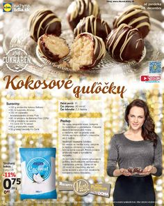 Leták Lidl - strana 4 Christmas Baking, Christmas Cookies, Lidl, Dessert Recipes, Desserts, Graham Crackers, Truffles, Sweet Recipes, Muffin