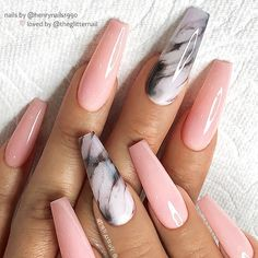 54 Hot Gel Pink Acrylic Coffin Nails Design Ideas Light pink gel coffin nails design, marble Coffin nails long, Glitter pink coffin nails design summer, Sparkle pink coffin nails with rhinestones, nail Nail Coffin Nails Designs Summer, Summer Acrylic Nails, Best Acrylic Nails, Pink Summer Nails, Colored Acrylic Nails, Nagellack Design, Nagel Hacks, Pink Nail Art, Pastel Nails
