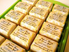 Organic Honey Lemon Zest wrapped soaps Lemon Zest - Pantone Color of the Year for Spring 2013 Wedding Favours, Wedding Bells, Soap Favors, Honey Lemon, Goat Milk Soap, Limoncello, Lemon Recipes, Home Made Soap, Color Of The Year