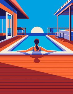 Travel-Inspired Illustrations by Malika Favre