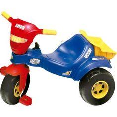Triciclo Magic Toys Tico Tico Cargo, diversão para seu filho.