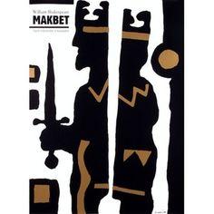Makbet / Macbeth,... Polish, Poster, Character, Art, Art Background, Vitreous Enamel, Kunst, Performing Arts, Billboard