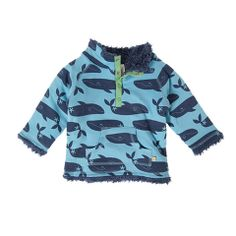 Frugi Baby Reversible Snuggle Fleece Whale - Bo Beep Boutique #frugi #organic #whale #baby #fleece  http://www.bopeepboutique.co.uk/collections/products/products/frugi-baby-reversible-snuggle-fleece-whale