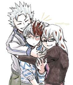 Squish-hug the baby bro! My Hero Academia Memes, Buko No Hero Academia, Hero Academia Characters, My Hero Academia Manga, Fictional Characters, Sword Art Online, Familia Anime, Boku No Hero Academy, Tag Art