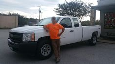 CHRISTOPHER's new 2010 CHEVROLET 1500! Congratulations and best wishes from Benny Boyd Motor Company - Marble Falls and DEE NIXON.