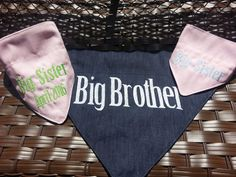 Size Small Gender Reveal Baby Announcement Pet by Inspirebybannad