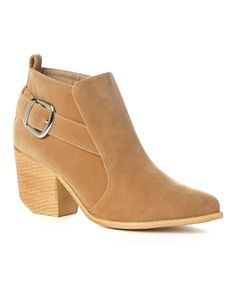 Look at this Beige Tess Bootie on #zulily today!