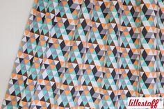 lillestoff » Sweat Triangle, mint « // Design: käselotti // hier erhältlich: http://www.lillestoff.com/sweattriangle-mint.html