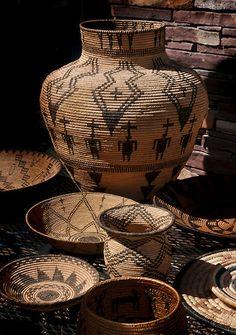 Beautiful Native American baskets!