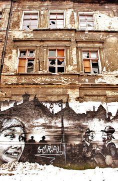 Poznan Poland, Street Art na Chwaliszewie [fot.Justyna Kochańska]