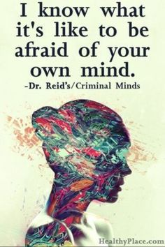 Criminal Minds Quote by R. Reid