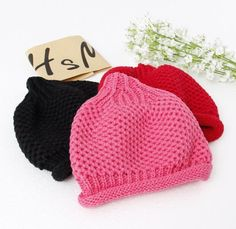 Sweet Babies Boys And Girls Candy Color Knitting Caps Hats Fall Winter Warm Hats Crochet Cute Children Kids Hats From Smartmart, $34.1 | Dhgate.Com