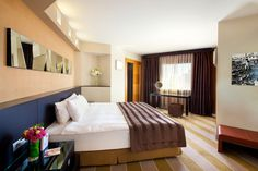 Point Hotel Management Guest Rooms, Management, Bed, Furniture, Home Decor, Guest Bedrooms, Decoration Home, Stream Bed, Room Decor