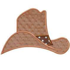 FREE Cowboy Hat Applique Design File $0 http://www.planetapplique.com/free-designs/cowboy-hat-applique/prod_177.html