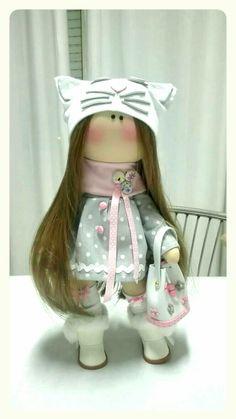 Doll boneca russa cucito creativo