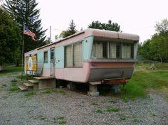 Restoration of Vintage Mobile Homes | 1950's Vintage 44' mobile home - with restoration, ... | Vintage Trai ...
