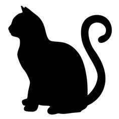 This is a free cat svg cut file created by me! I love sharing my designs with the world. These can be used with your cricut or silhouette cutting machine. You can use it for tshirt printing, sign making and other arts and crafts! Laptop Decal Stickers, Vinyl Decals, Rear Window Decals, Cat Template, Alley Cat, Cat Quilt, Animal Silhouette, Cat Drawing, Cat Tattoo