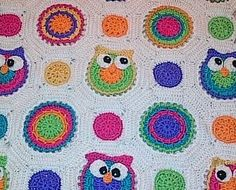 Hey, I found this really awesome Etsy listing at https://www.etsy.com/listing/119998793/owl-obsession-blanket