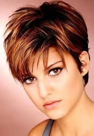 choppy short haircuts for fine hair - Google Search