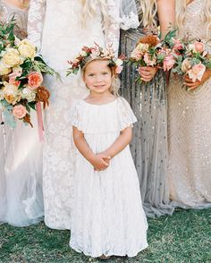 In case you guys need a midweek pick-me-up, we decided to round up another batch of flower girl dresses that'll make your heart skip a beat. From tutus to floral prints to all the modern designs between, we are just BEYOND words! So if you thought the cutest wedding detail was the cake, this post might make you think again. Today we're appreciating the little things. #flowergirl #flowergirldresses #FlowerGirlFashion #flowergirls #weddingfashion