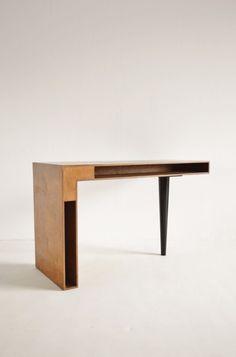 Patrick de Hoedt prototype desk 1960s, http://www.betonbrut.co.uk/