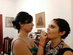 A veces nos vestimos de gala y maquillamos igual !!!! #LoveMakeUp