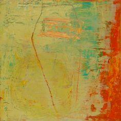 "DEPARTURES 3 (2015) by Lisa Pressman / 12""x12"" / Oil on panel"